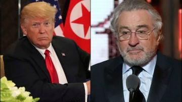 Donald Trump y Robert De Niro