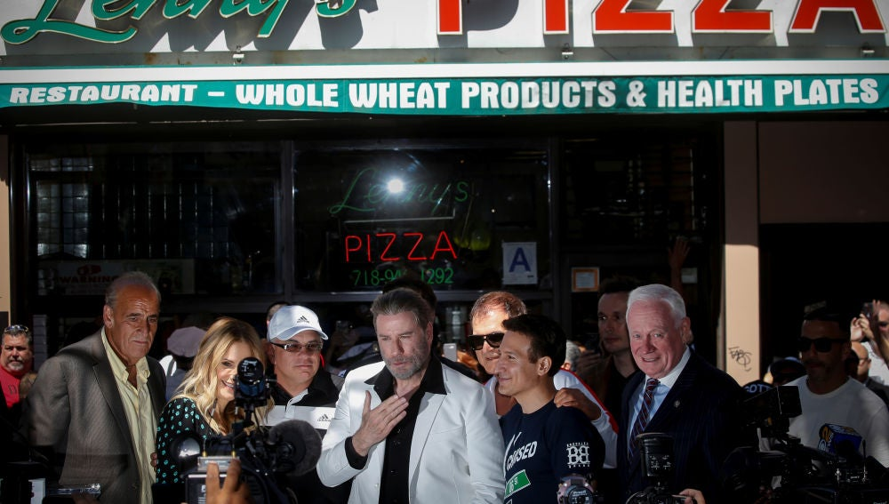 John Travolta en Brooklyn