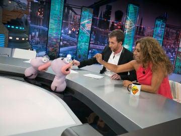 'Te envidio clip', Lolita se divierte con Trancas y Barrancas en 'El Hormiguero 3.0'