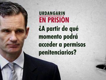 Expertos legales aclaran las dudas sobre el protocolo, permisos o beneficios carcelarios disponibles para Iñaki Urdangarín