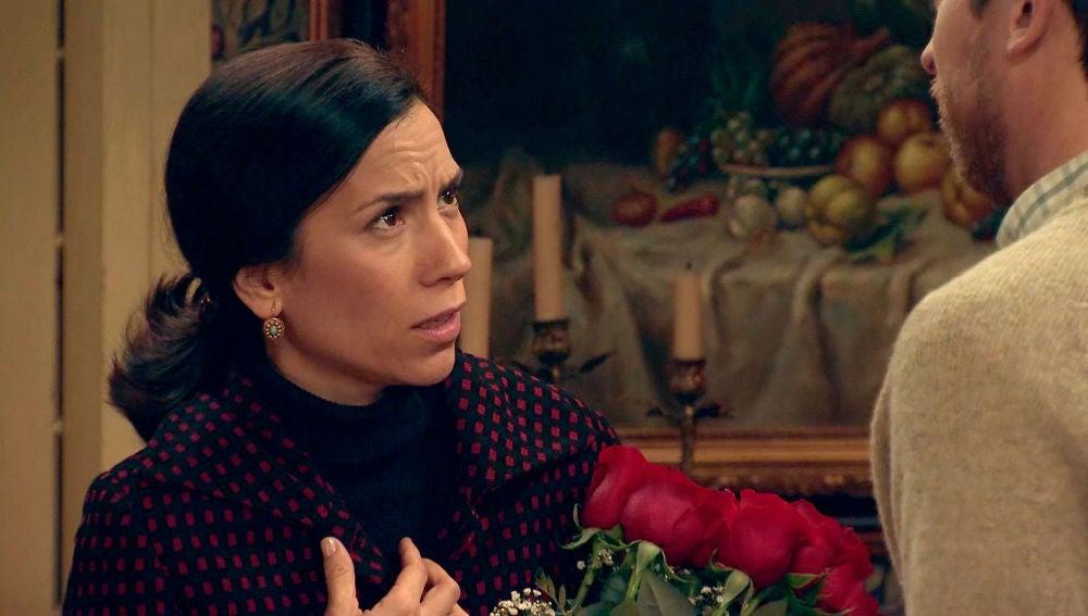 Manolita, decepcionada con la celebración de su aniversario secreto