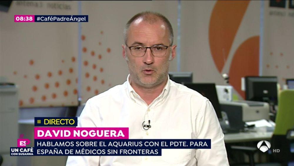 David Noguera en Espejo Público