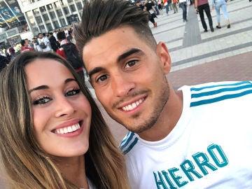 Claudia y Álvaro Ruiz, los hijos de Fernando Hierro
