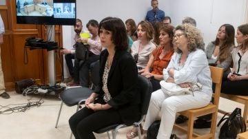 Imagen de Juana Rivas en el juicio