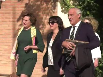 """Juana Rivas, a su llegada al juzgado: """"Soy inocente, se va a demostrar muy pronto"""""""