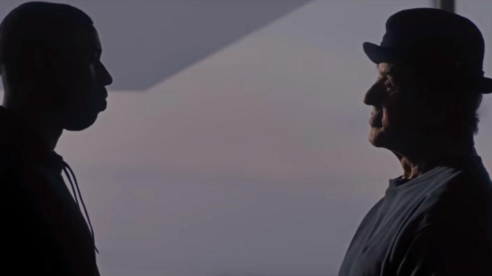 Michael B. Jordan y Sylvester Stallone en 'Creed II'