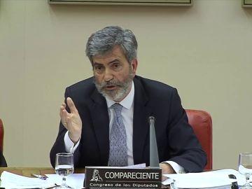 """Lesmes pide """"colaboración, respeto y lealtad institucional"""" después de las últimas críticas a los jueces"""