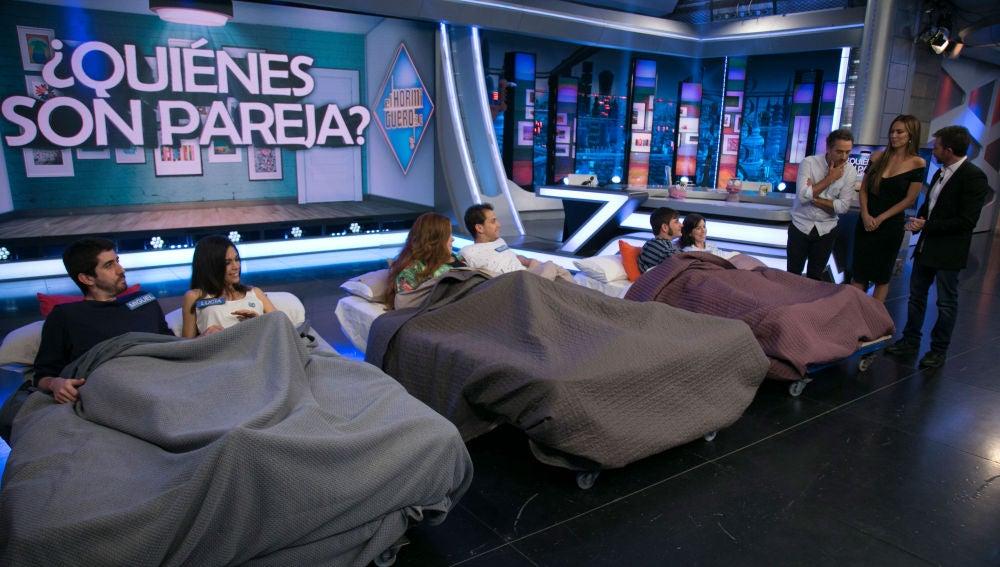 """El """"intercambio de pareja"""" de 'El Hormiguero 3.0' provoca un enfrentamiento entre Kira Miró y Daniel Guzmán"""