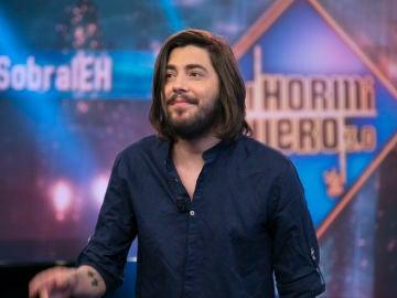 Salvador Sobral dedica unas muy bonitas palabras de agradecimiento a España al pisar el plató de 'El Hormiguero 3.0'