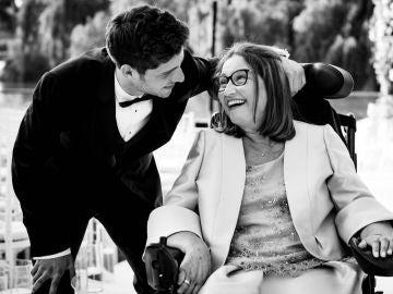 Sergi Roberto y su madre