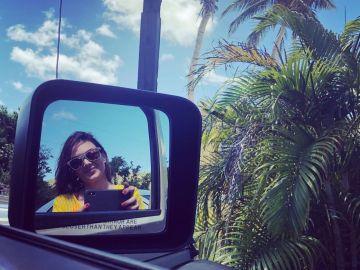 Selfie de Mónica Carrillo