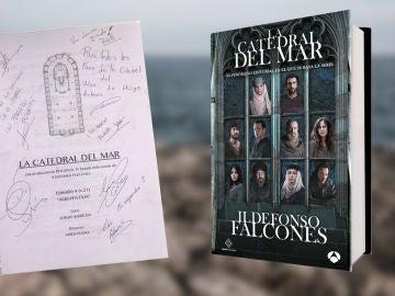 ¿Eres un experto en 'La Catedral el Mar'? ¡Demuéstralo y llévate el cuarto guion de la serie firmado por sus protagonistas!