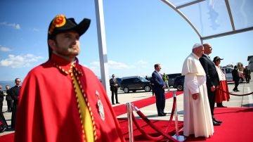 El Papa Francisco de visita en Ginebra