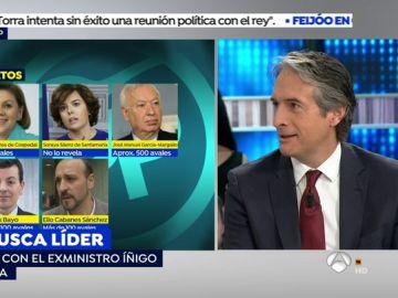"""Iñígo de la Serna: """"Quería explicar que decisión había tomado y un tuit no me parecía la mejor manera"""""""