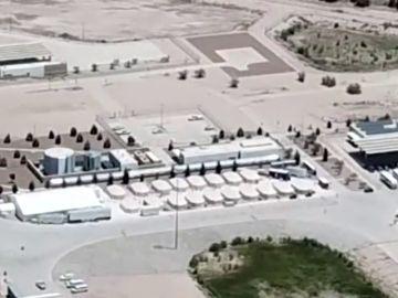 Imágenes de un centro de detención para hijos de inmigrantes