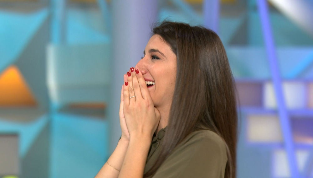 Ana y su gran juego se llevan más de 10.000€ en 'La ruleta de la suerte'