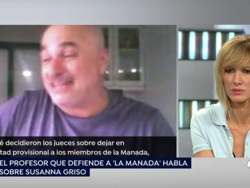 Los vídeos que el profesor que defiende a 'La Manada' asegura que ha censurado Espejo Público