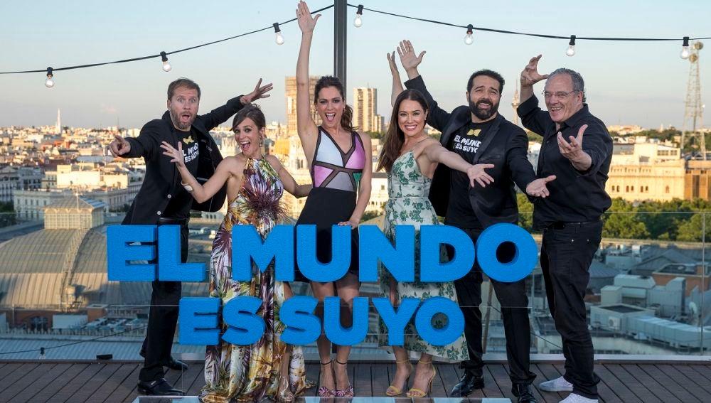 PRESENTACIÓN DE 'EL MUNDO ES SUYO'