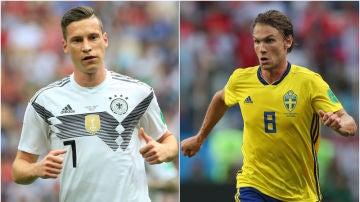 Alemania - Suecia, partido del Mundial de Rusia