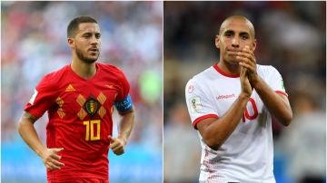 Bélgica - Túnez, partido del Mundial de Rusia