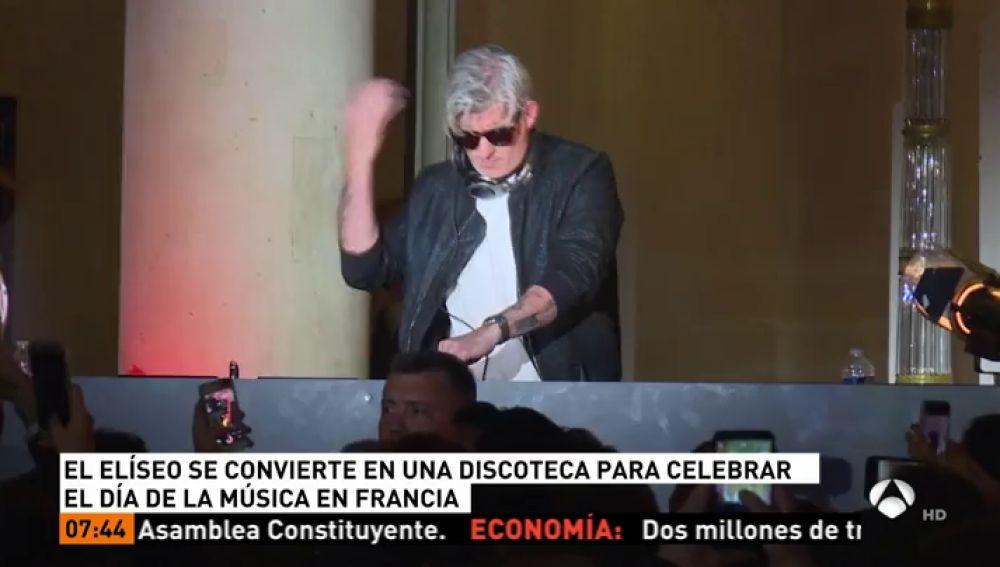 El Palacio de Eliseo se convierte en una discoteca para celebrar el Día de la Música
