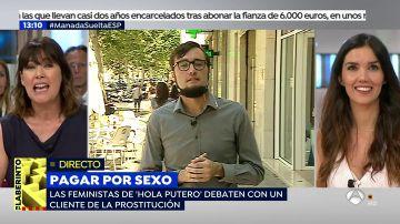 """Feministas contra 'puteros': """"Los clientes de prostitutas sois violadores de mujeres"""""""