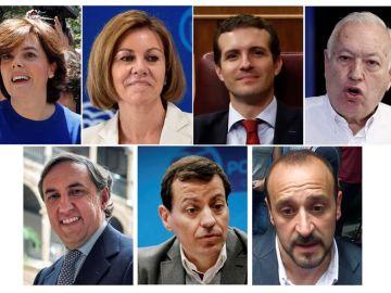 Candidatos del PP
