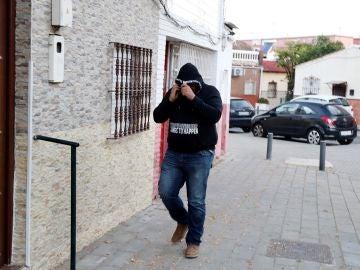 Vivienda del barrio sevillano de Amate donde reside José Ángel Prenda, uno de los cinco integrantes de 'La Manada'