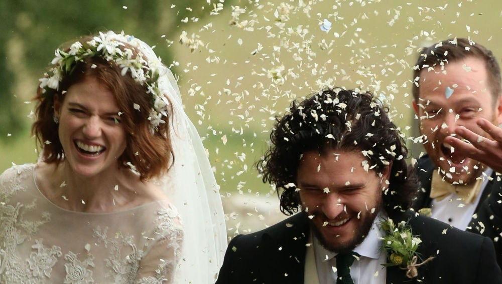 Kit Harington se casa con Rose Leslie