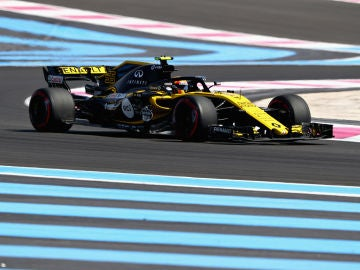 Carlos Sainz, durante el GP de Francia