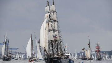 Desfile de veleros (23-06-2018)