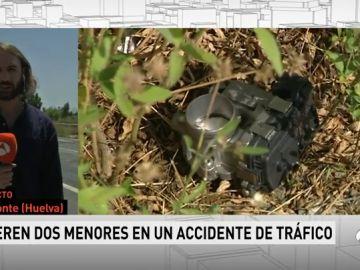 Dos menores mueren y otras seis personas resultan heridas en una colisión frontal en Almonte