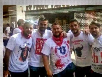 Antena 3 Noticias Fin de Semana (23-06-18) Los cinco integrantes de 'La Manada' ya se encuentran en Sevilla tras su puesta en libertad