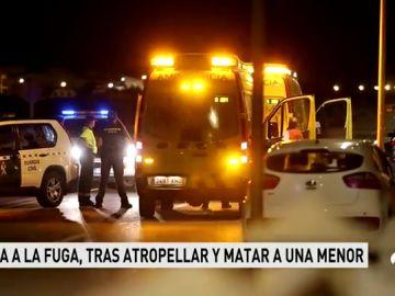 Una menor muere atropellada por un coche cuyo conductor se ha dado a la fuga en Mallorca