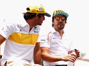 Fernando Alonso, antes del GP de Francia