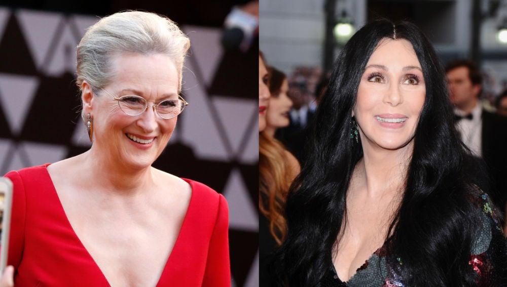 Meryl Streep y Cher son muy amigas
