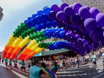 49 ° aniversario anual del Orgullo Gay de Nueva York (25-06-2018)