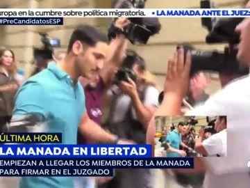 """Habla el militar de 'La Manada':""""Estoy un poco agobiado"""""""