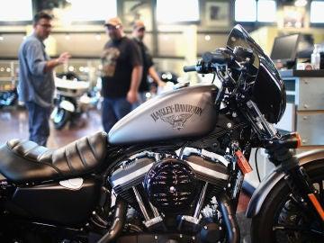 Una Harley Davidson