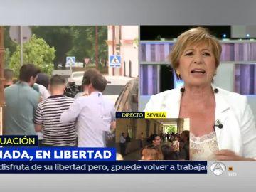 """Celia Villalobos sobre el caso de 'La Manada': """"En mi época también había camas de 3 y de 4 pero tú decías que sí o que no"""""""