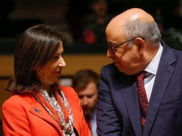 La ministra española de Defensa, Margarita Robles
