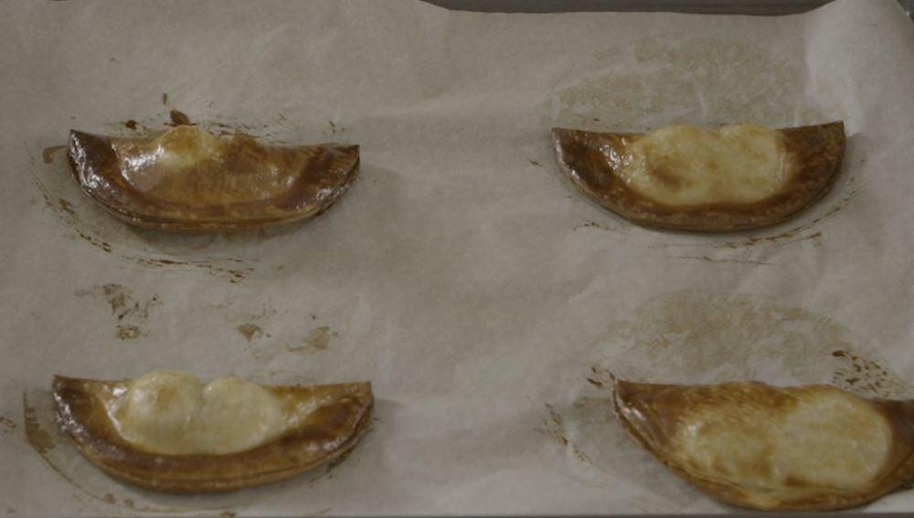 Así de ricas salen las empanadillas de Kinder Bueno.