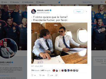 Pedro Sánchez en el helicóptero