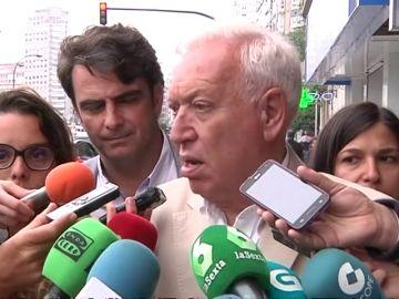 "García-Margallo en A Coruña: "" Si Santiago Carrillo estuviese vivo, me votaría"""