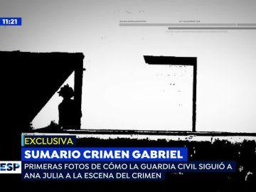 PRIMICIA: Las imágenes de Ana Julia Quezada trasladando el cuerpo de Gabriel que la conviertieron en culpable del crimen