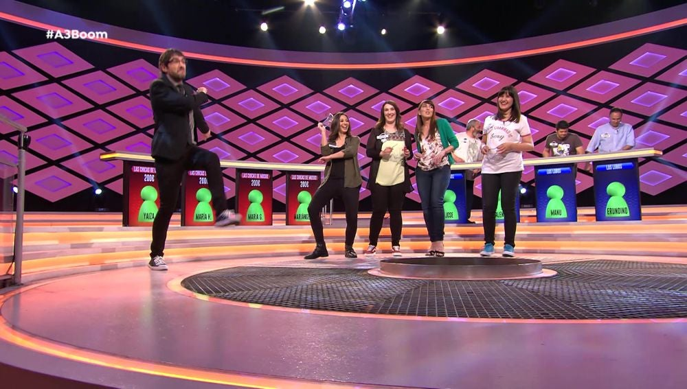 Los concursantes de '¡Boom!' se arrancan a bailar en pleno programa