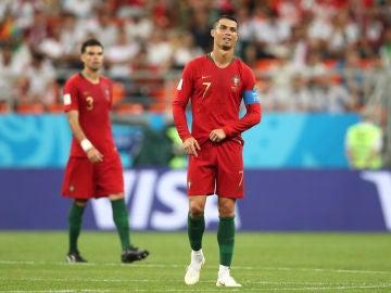 Cristiano, tras el empate de Irán