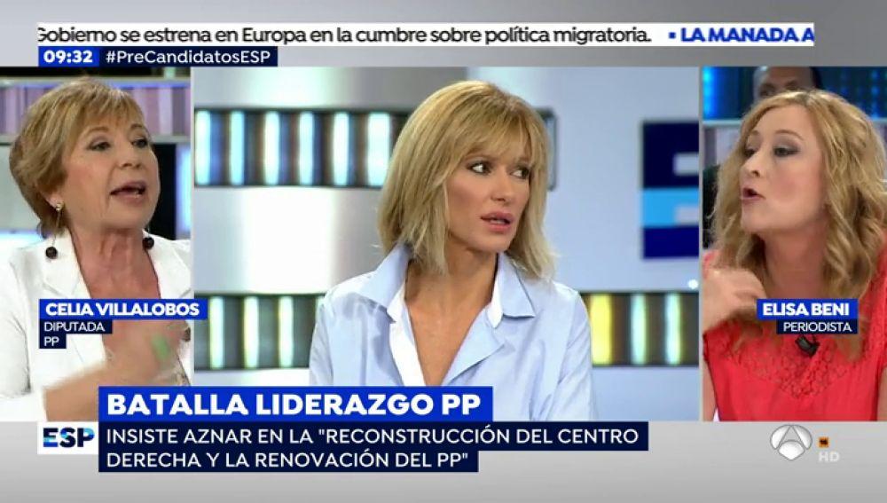 """Susanna Griso media en una riña entre Elisa Beni y Celia Villalobos: """"Si tenéis un problema os vais al psiquiatra"""""""