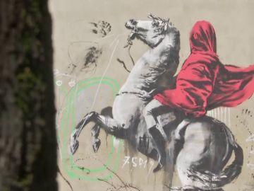 Banksy reaparece en París con seis grafitis críticos con la crisis migratoria