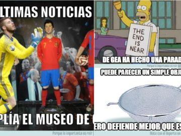Los memes del España vs Marruecos